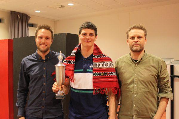 Jonathan, Sebastian og Torben